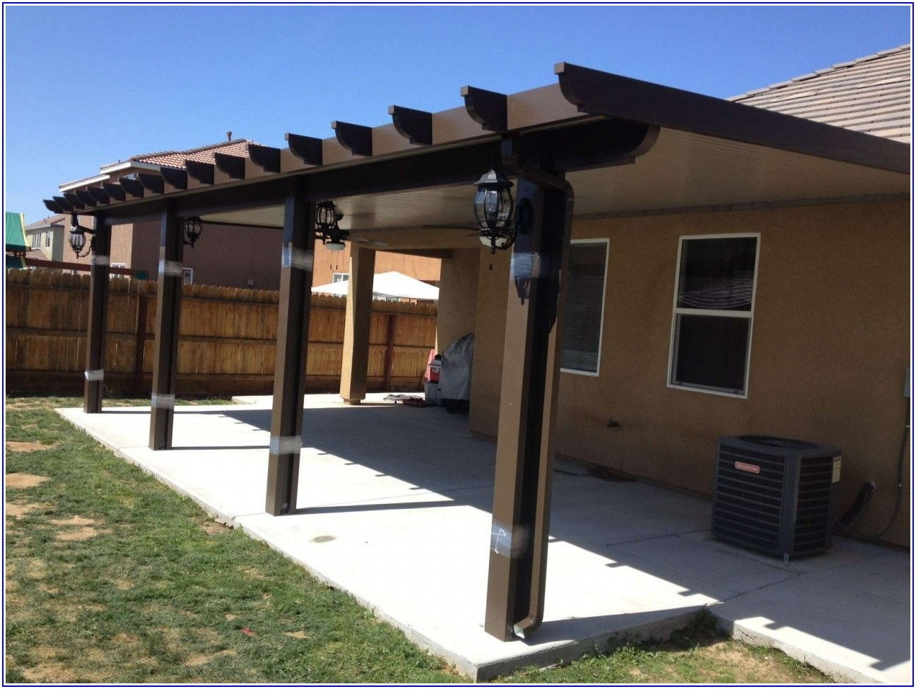 Free Standing Metal Patio Covers