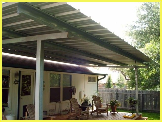 Free Standing Metal Roof Patio Cover