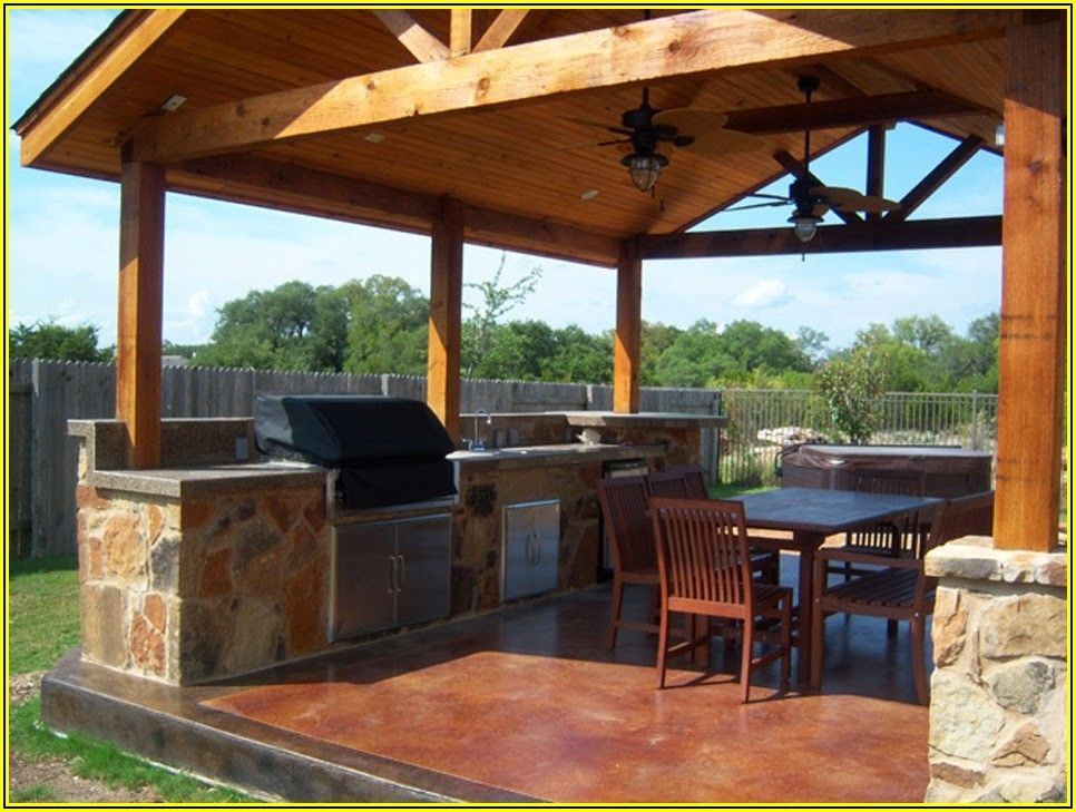 Free Standing Patio Roof Ideas