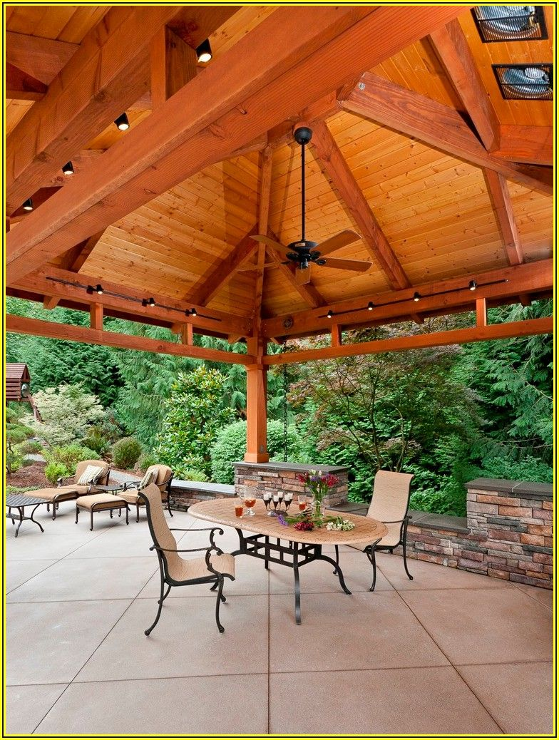 Free Standing Patio Roof