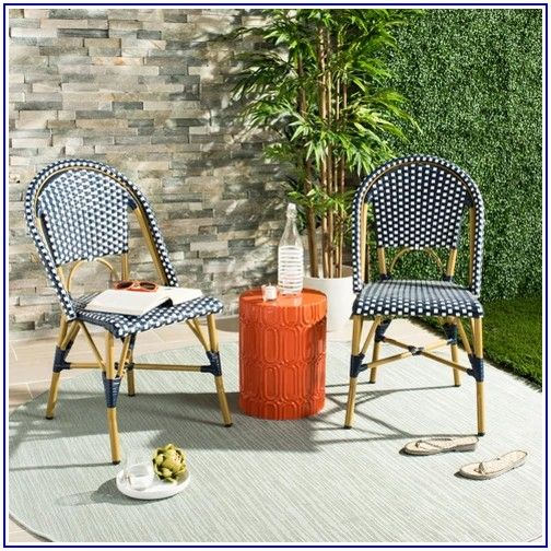 French Caf Wicker Patio Dining Chair Threshold
