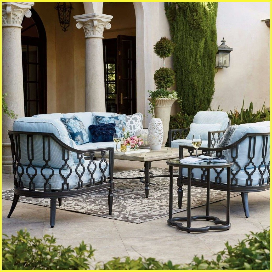 Frontgate Wrought Iron Patio Furniture