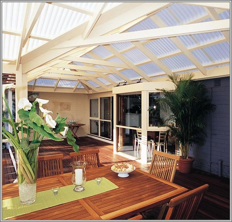 Gable L Shaped Covered Patio Or Deck