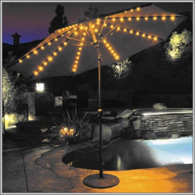 Galtech 9 Ft Aluminum Tilt Patio Umbrella