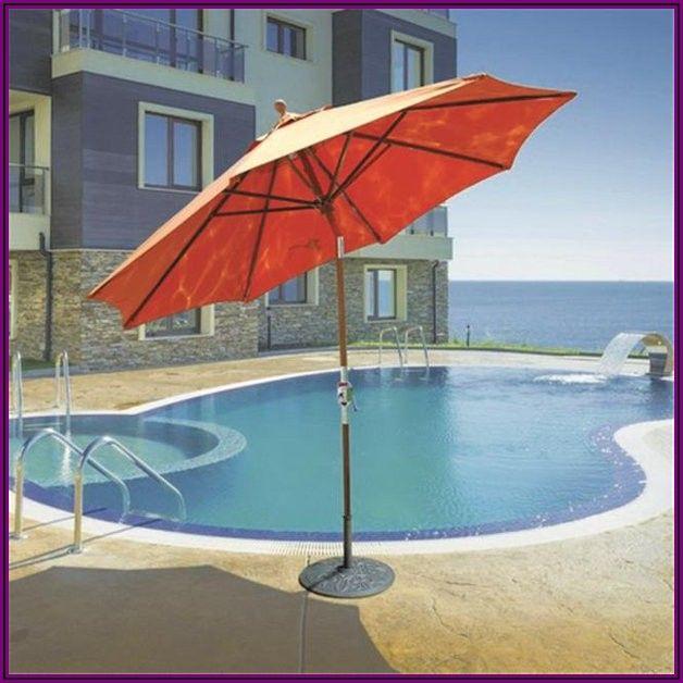 Galtech Sunbrella Patio Umbrella