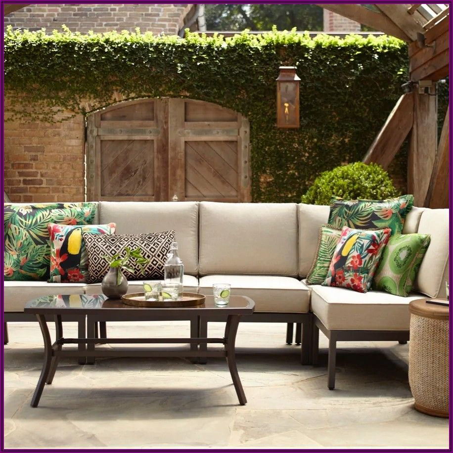Garden Treasures Patio Conversation Set