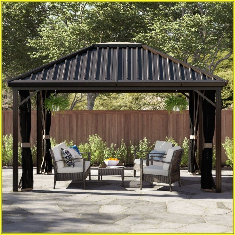 Genova Aluminum Patio Gazebo