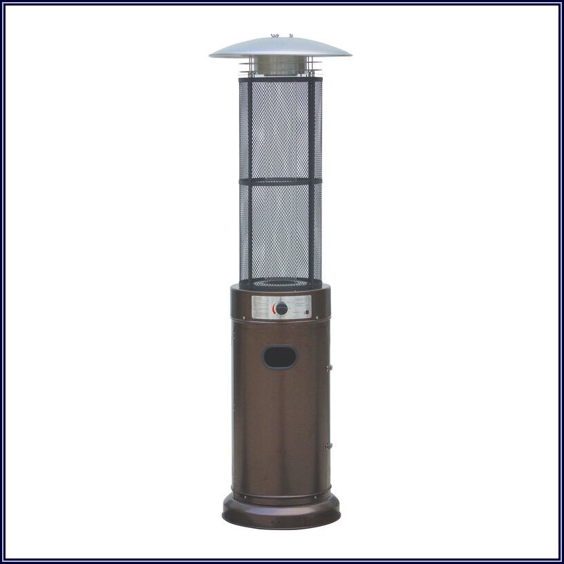Glass Tube Propane Patio Heater