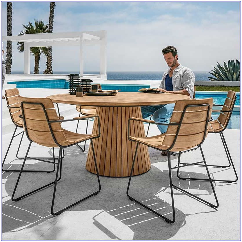 Gloster Teak Patio Set
