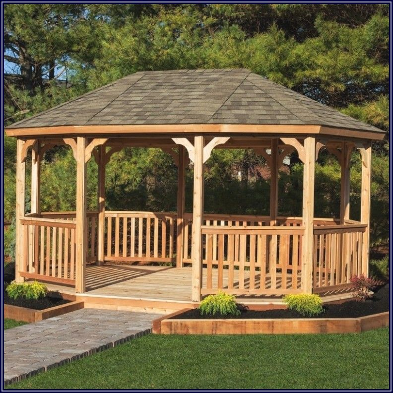 Grand Patio All Season Gazebo
