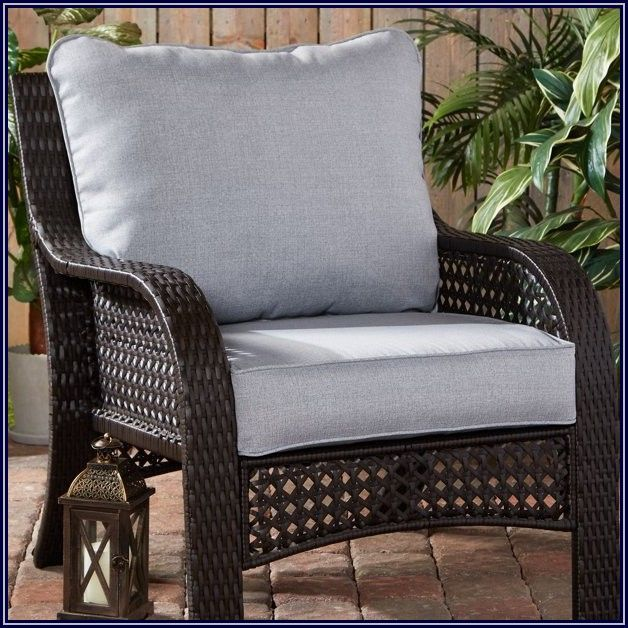 Gray Patio Seat Cushions