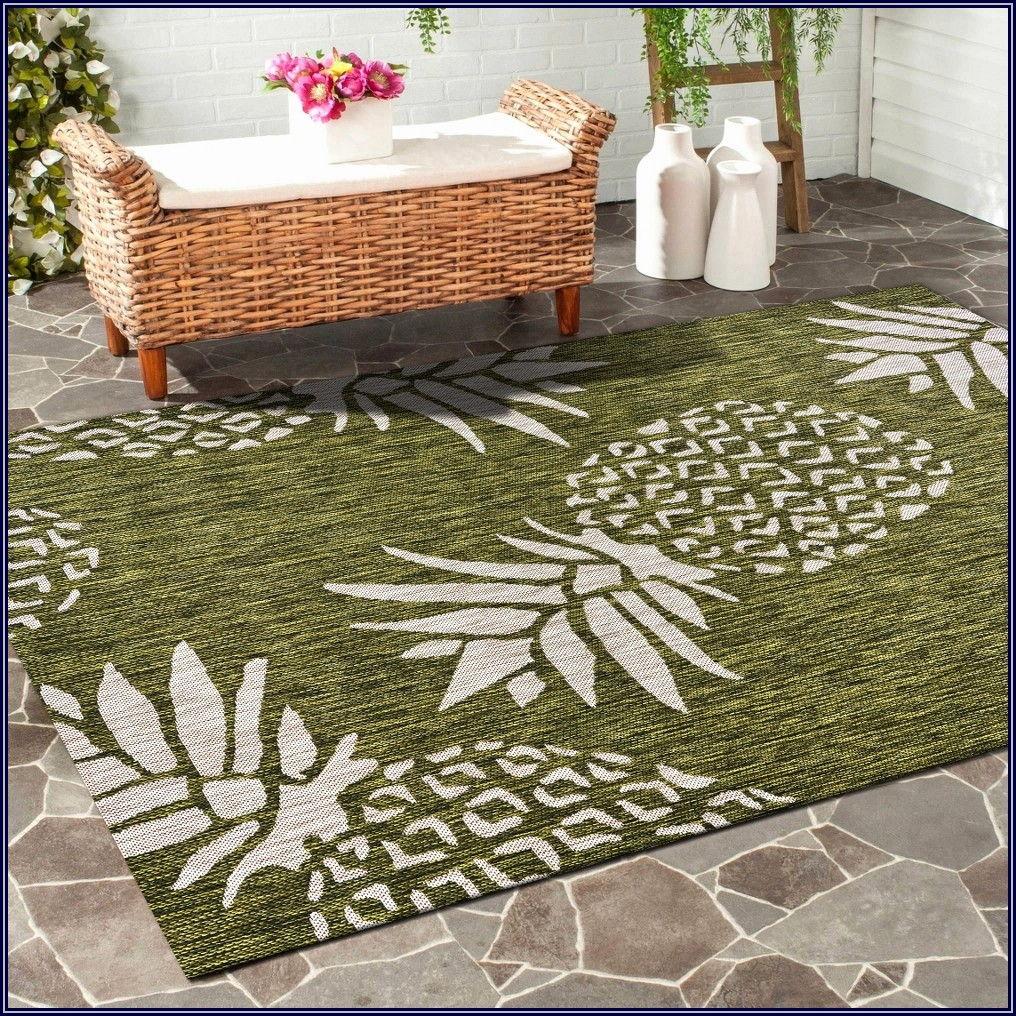 Green Outdoor Patio Rugs