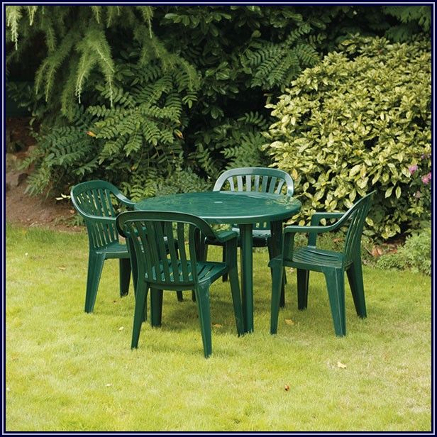 Green Resin Patio Chairs