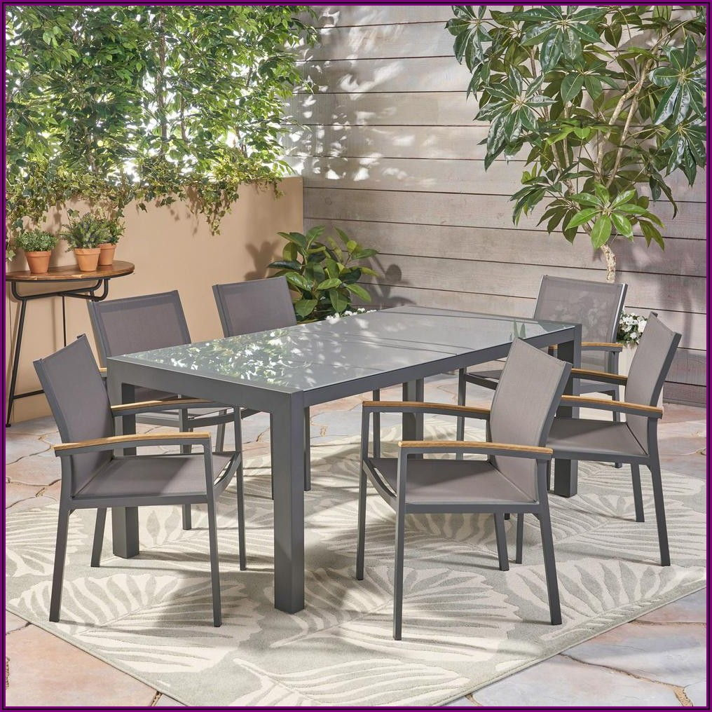 Grey Aluminum Patio Furniture