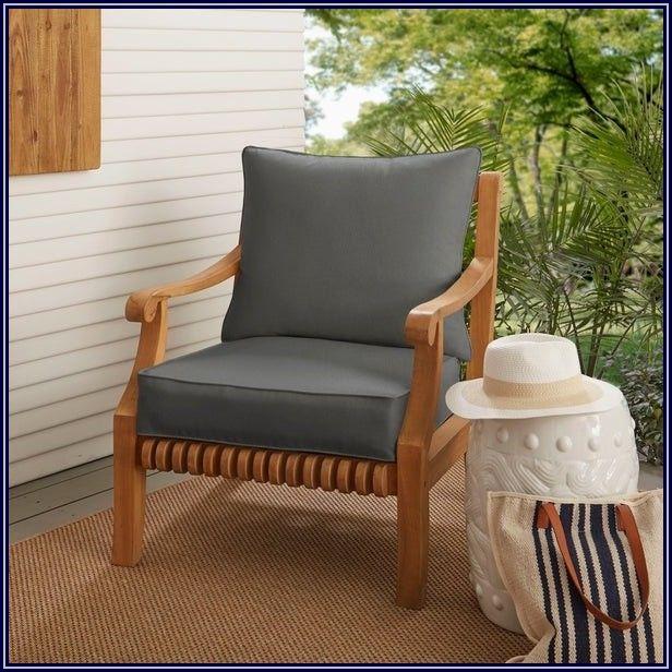 Grey Outdoor Patio Cushions