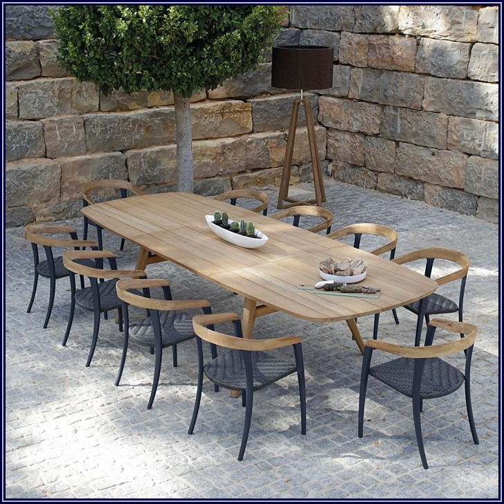 Grey Teak Patio Furniture