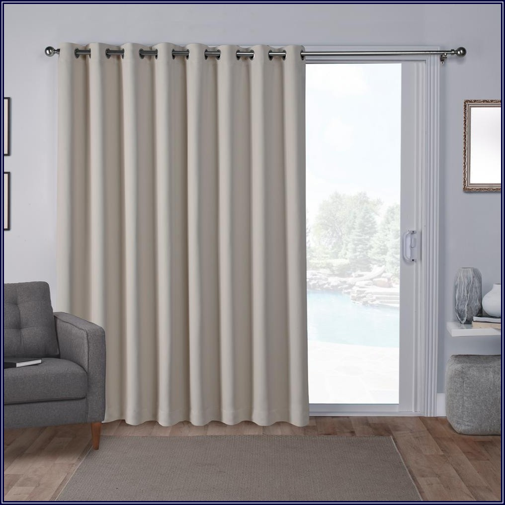 Grommet Top Patio Door Panels