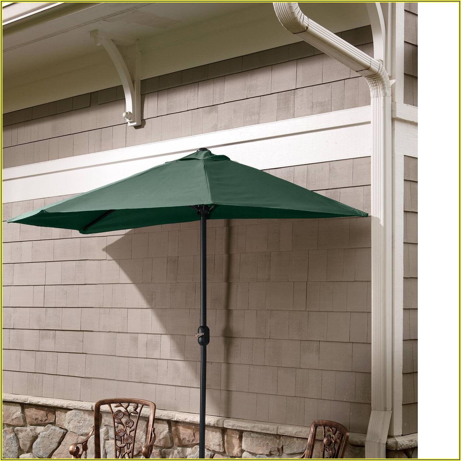 Half Round Market Patio Umbrella