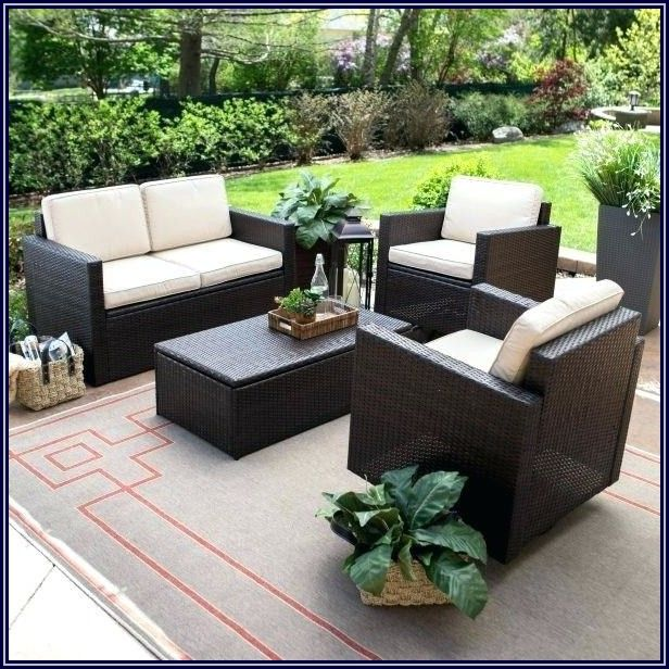 Halsted Wicker Patio Set