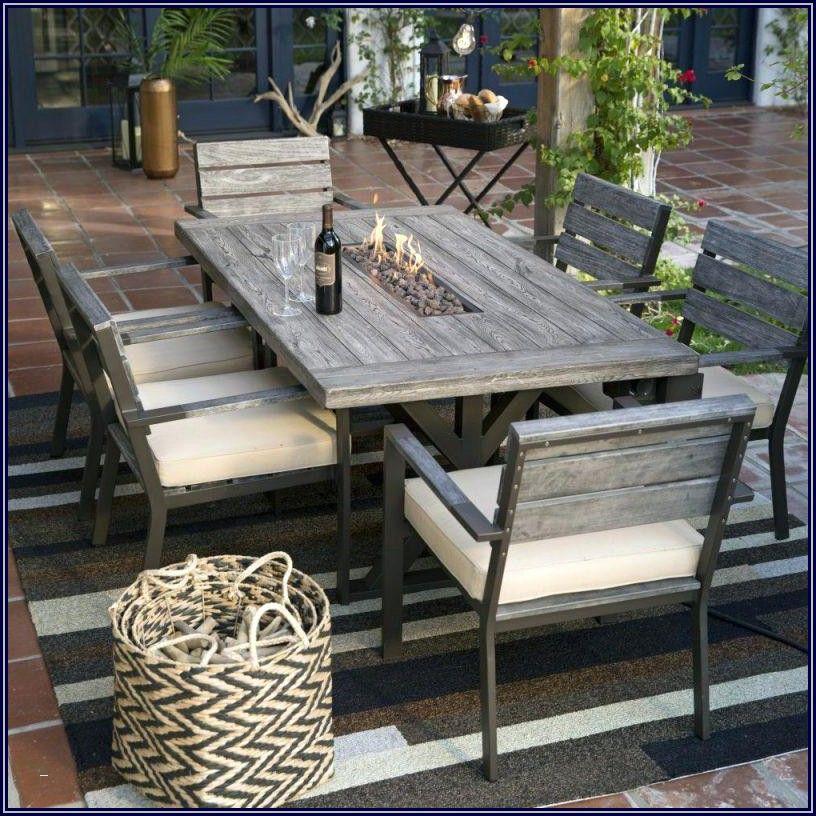 Hampton Bay Belleville Patio Side Table