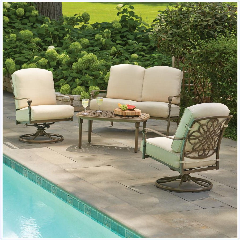 Hampton Bay Deep Seat Patio Cushions