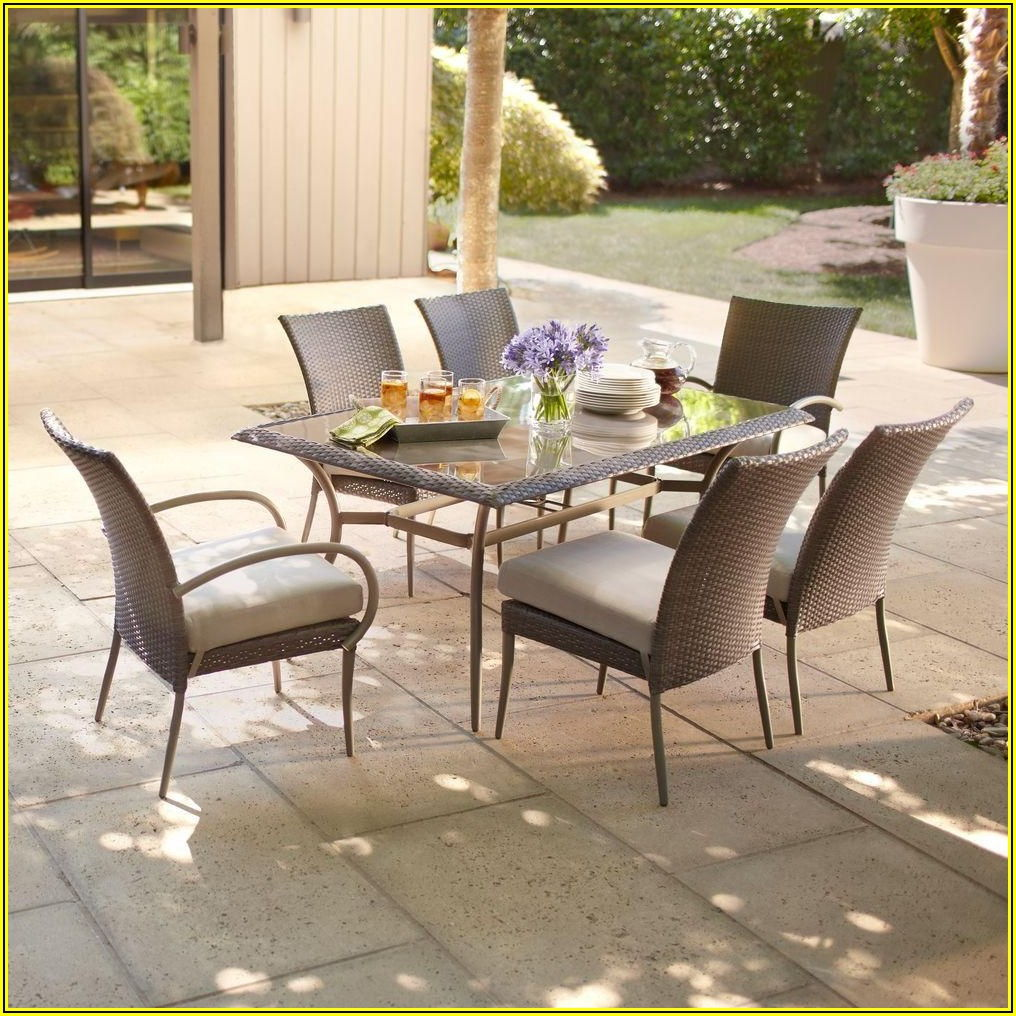 Hampton Bay Grey Wicker Patio Furniture
