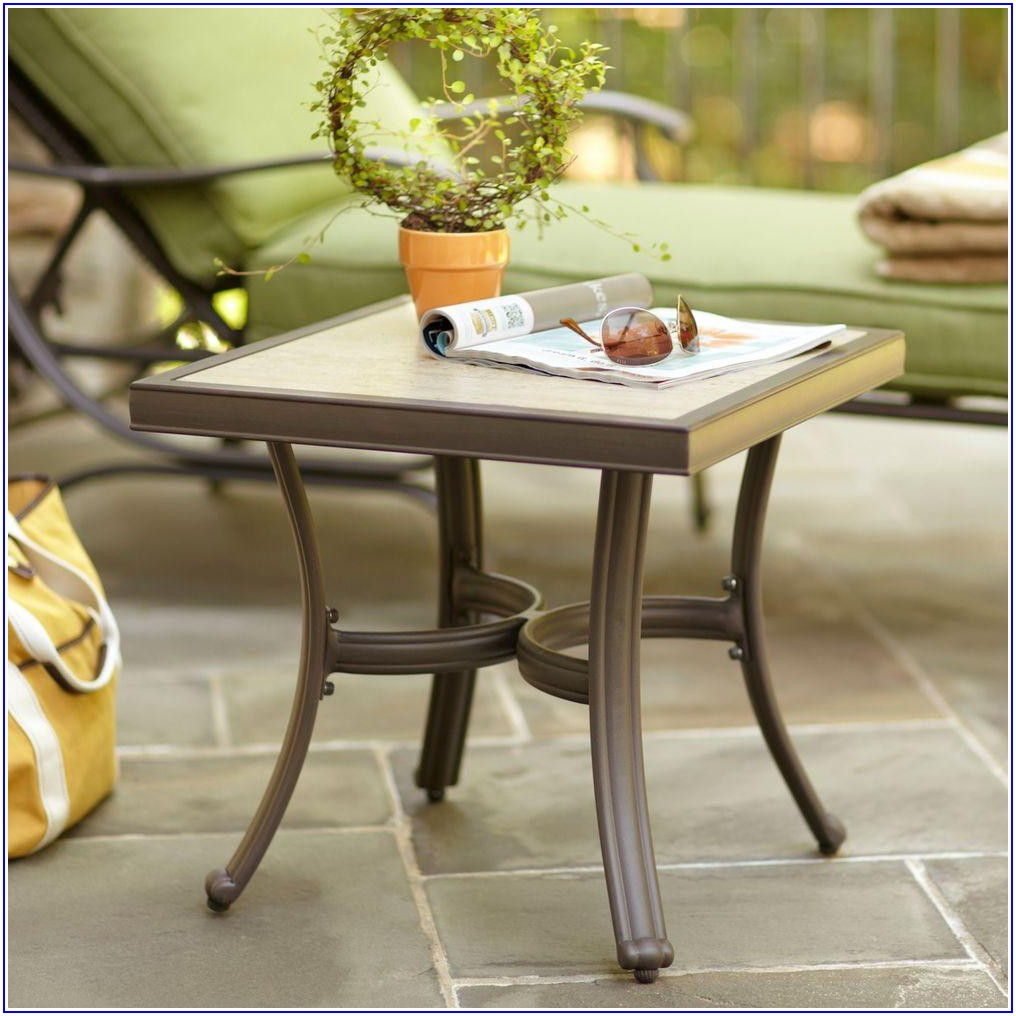 Hampton Bay Patio Side Table
