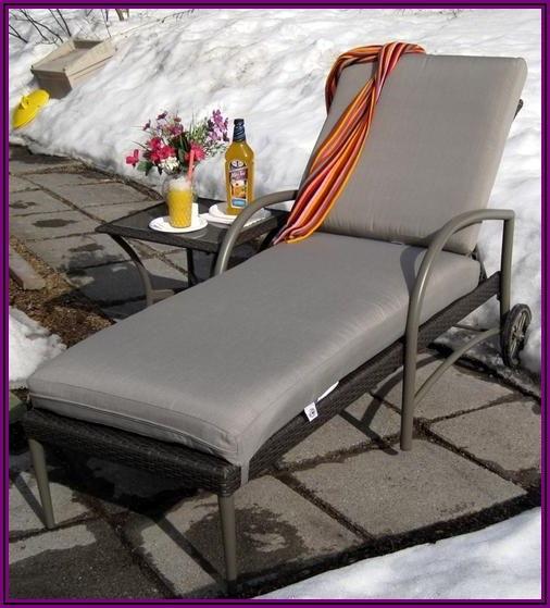 Hampton Bay Posada Patio Chaise Lounge