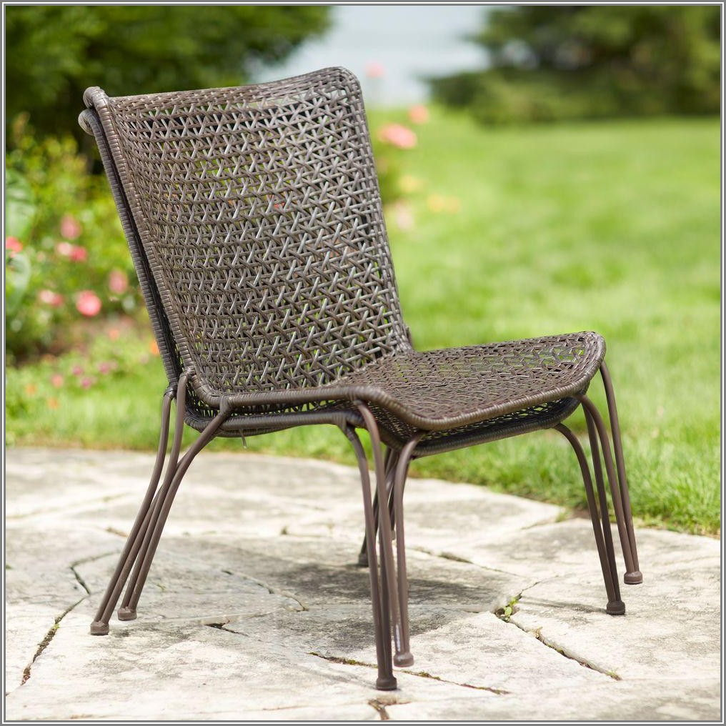 Hampton Bay Stackable Patio Chairs