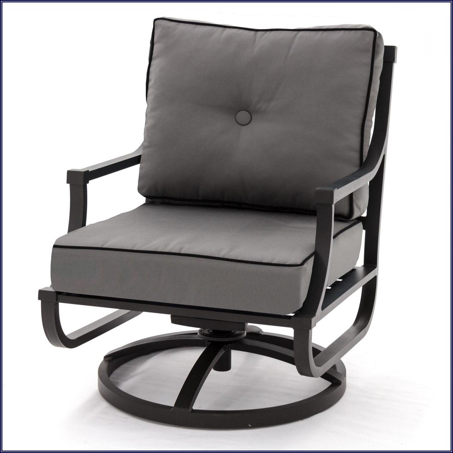 Hampton Bay Swivel Rocker Patio Chairs