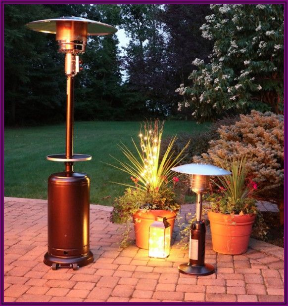 Hanover 7 Umbrella Propane Patio Heater