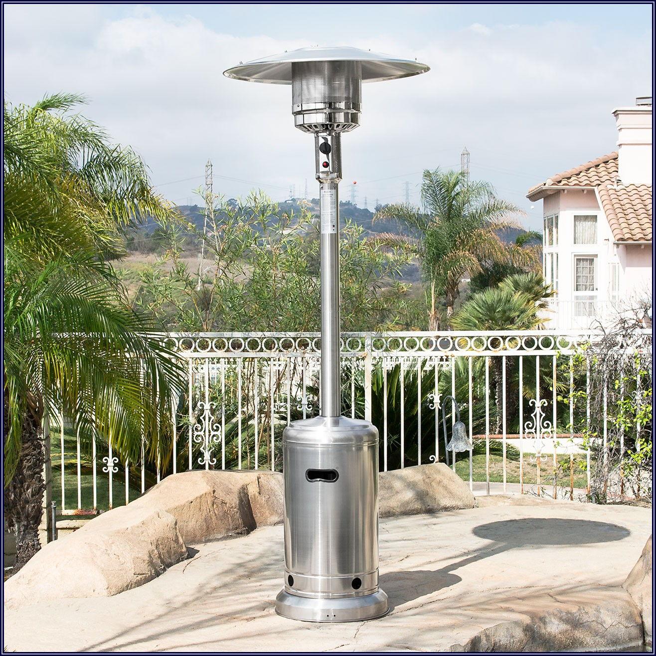 Heat Focusing Propane Gas Patio Heater