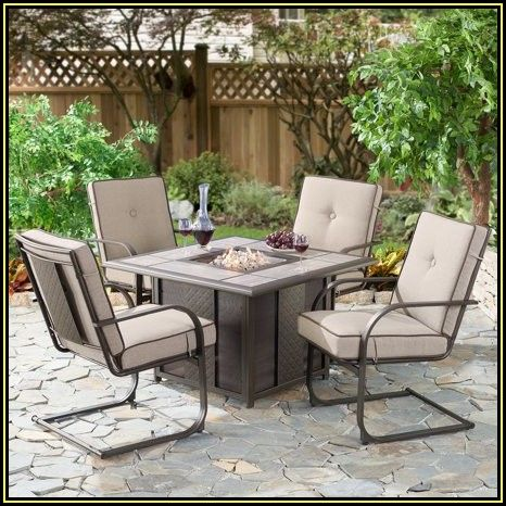 Heirloom 5 Piece Fire Pit Patio Set