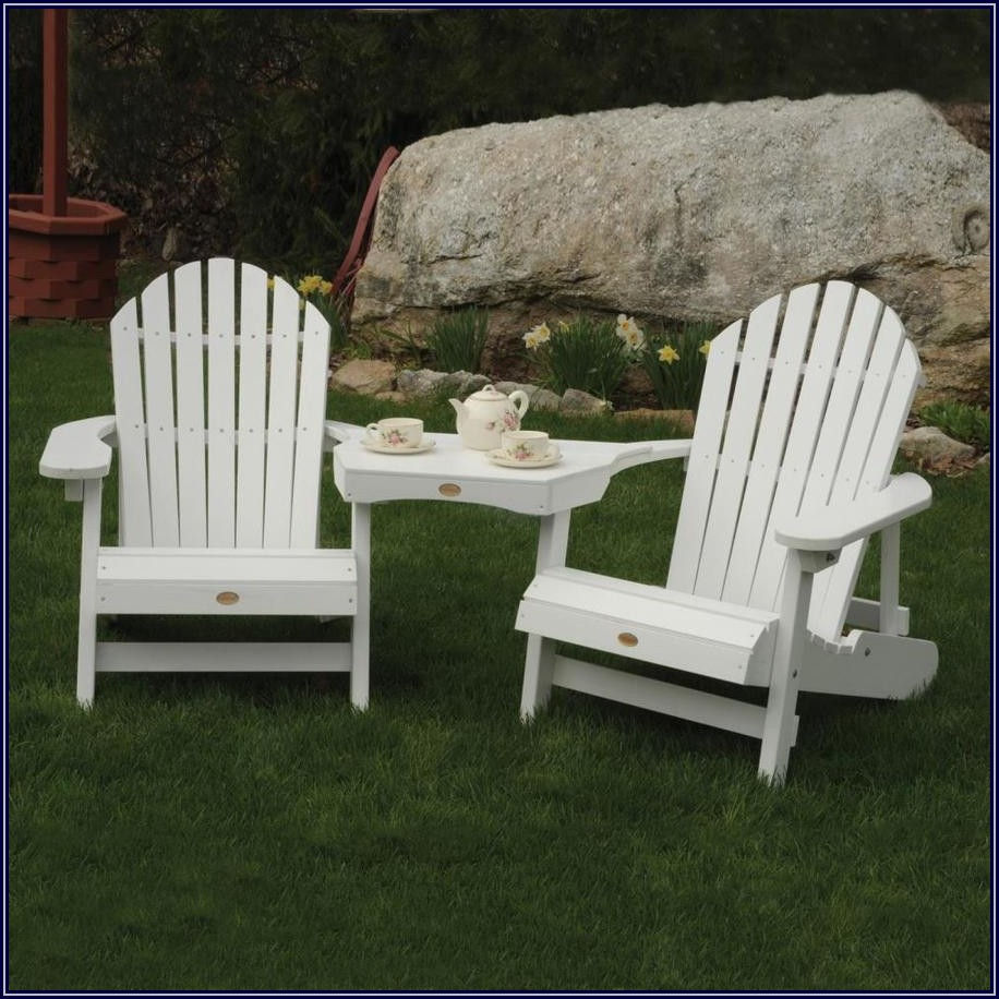 High Back White Plastic Patio Chairs