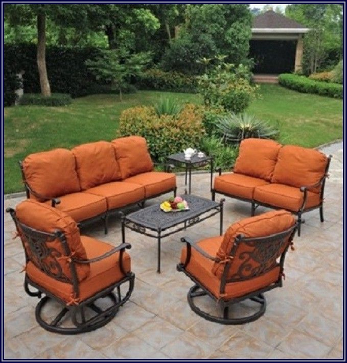 High End Cast Aluminum Patio Furniture
