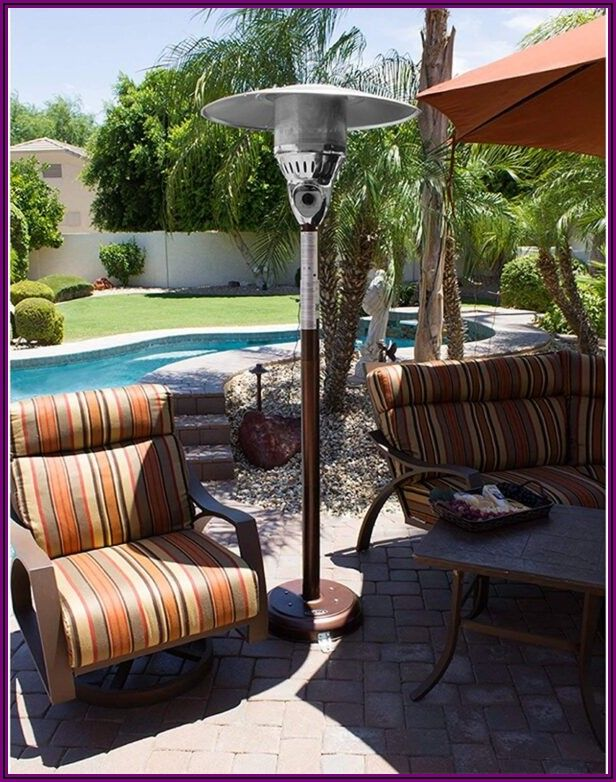 Hiland Tall Outdoor Patio Heater