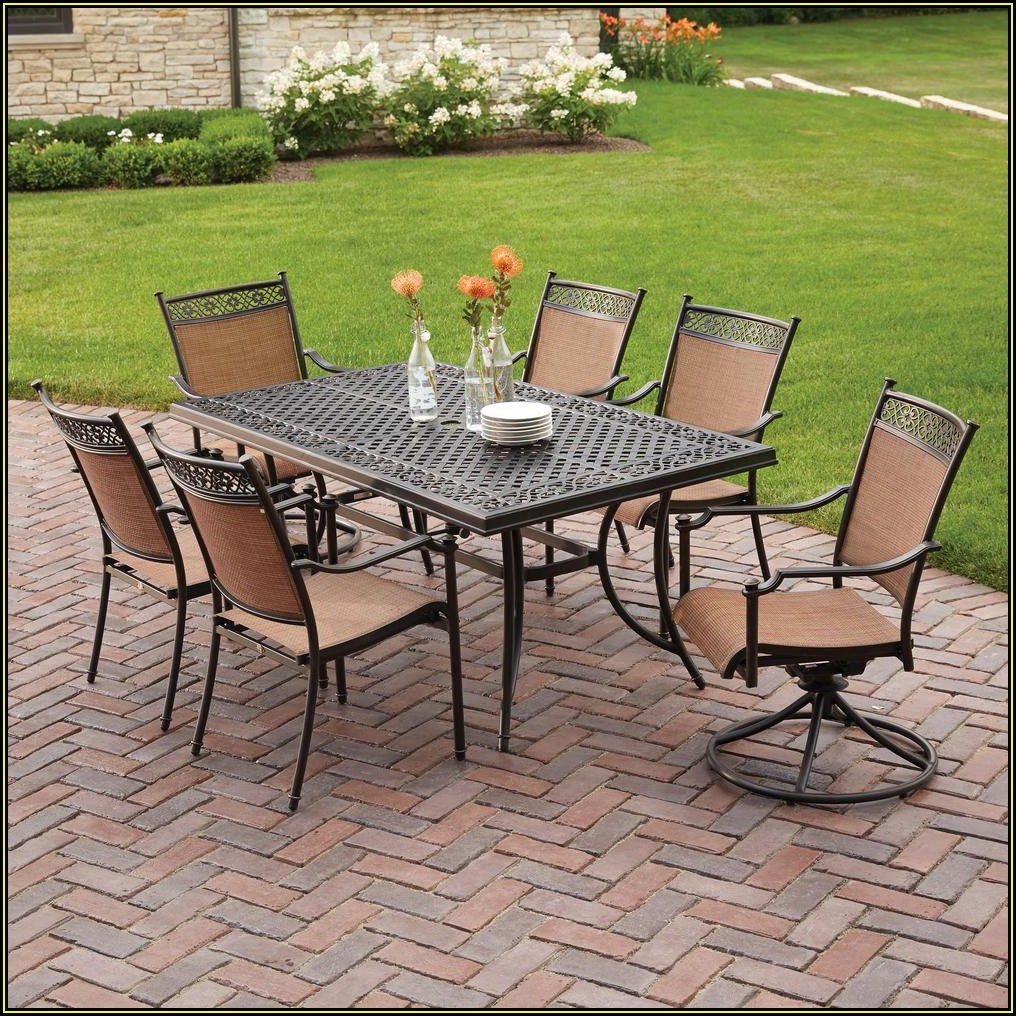 Home Depot 7 Piece Patio Set