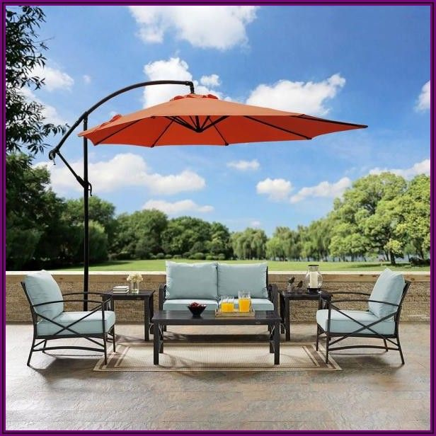 Home Depot Cantilever Patio Umbrella