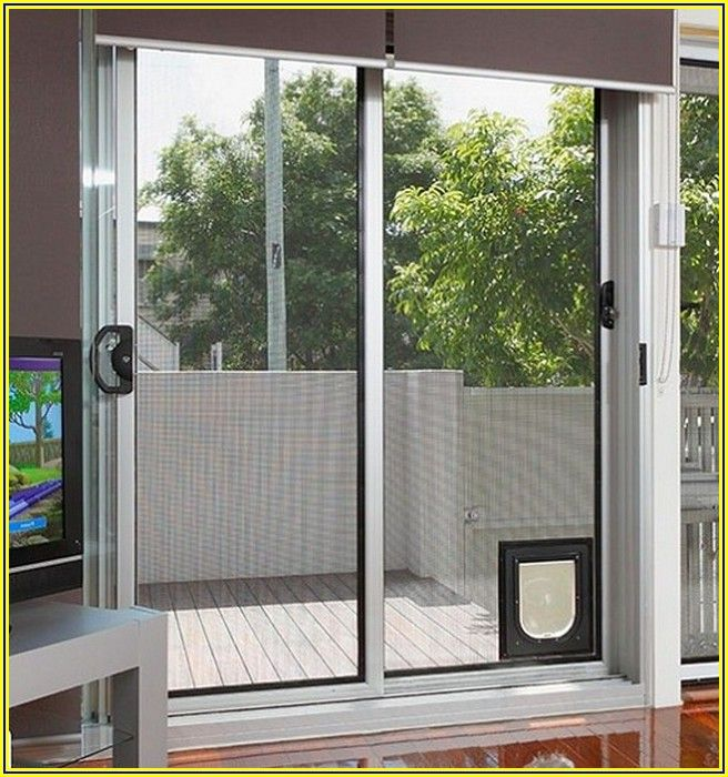 Home Depot Patio Pet Door