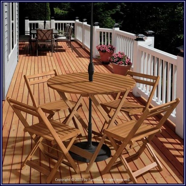 Home Depot Patio Table With Umbrella Hole