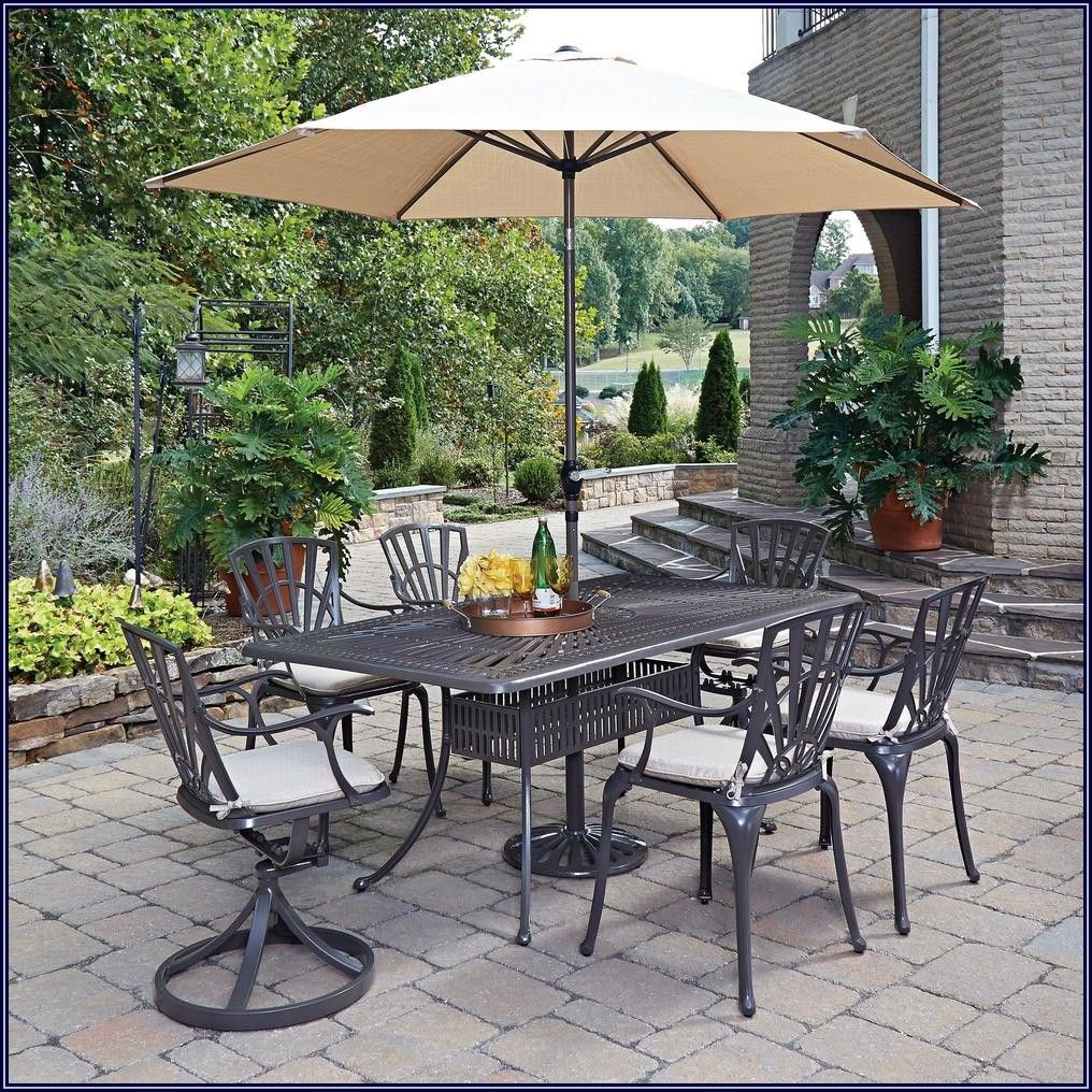 Home Depot Patio Table With Umbrella