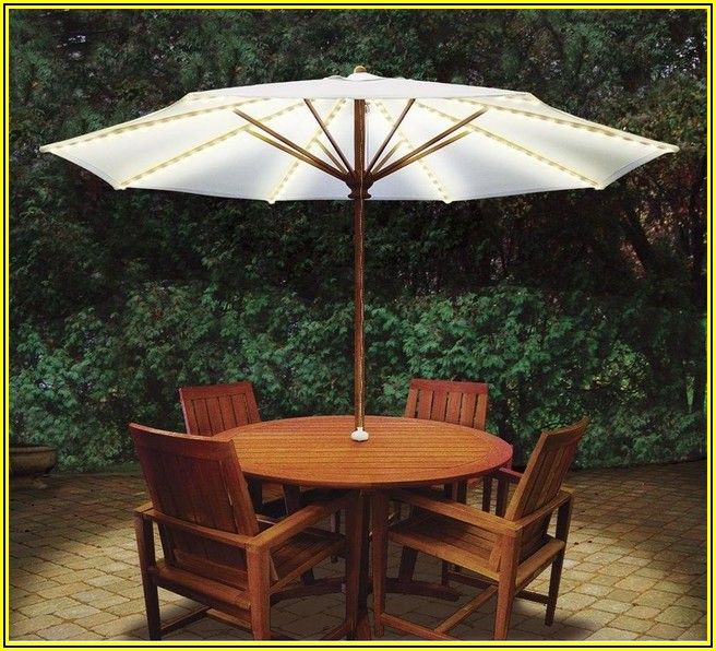 Home Depot Patio Umbrella With Lights