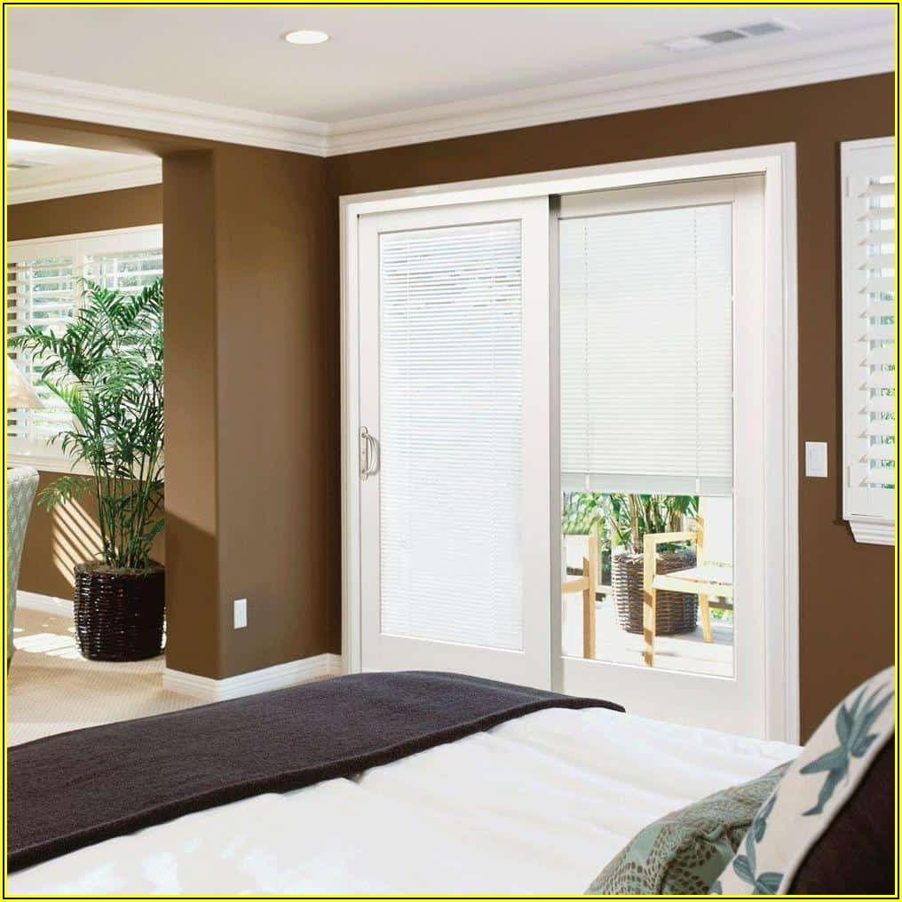 Horizontal Blinds On Patio Doors