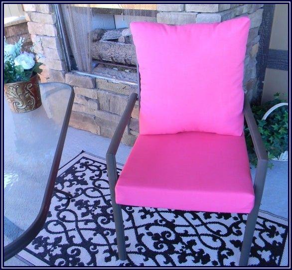 Hot Pink Patio Chair Cushions