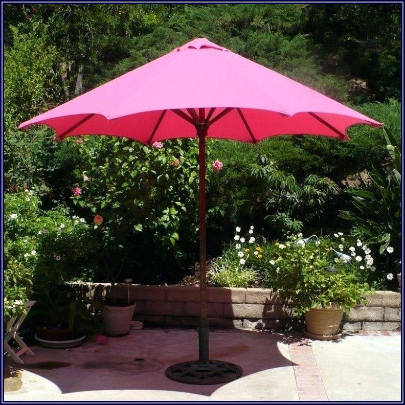 Hot Pink Patio Umbrella