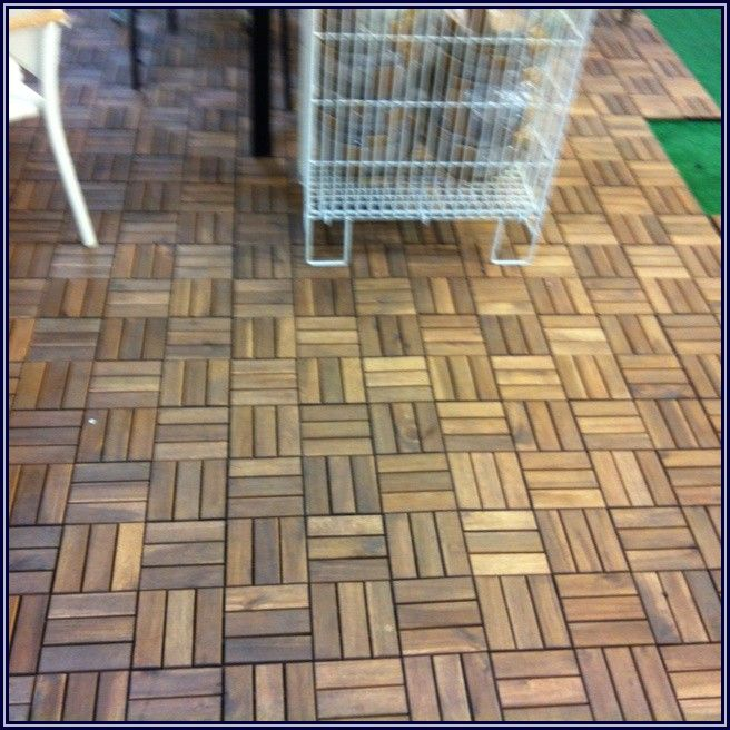 Ikea Snap Together Patio Tiles