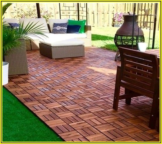 Ikea Wood Patio Tiles