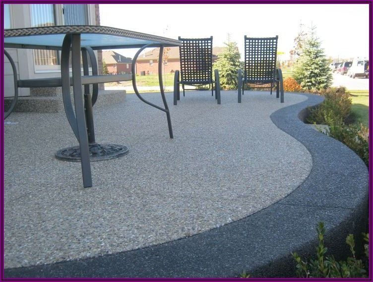 Images Of Exposed Aggregate Patios