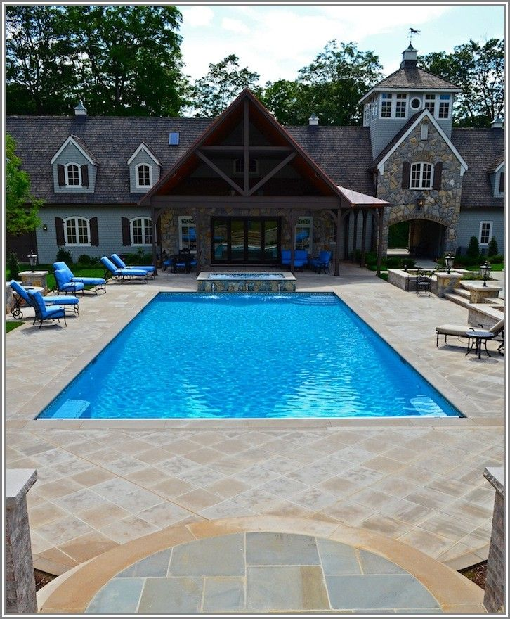 Inground Pool And Patio Ideas