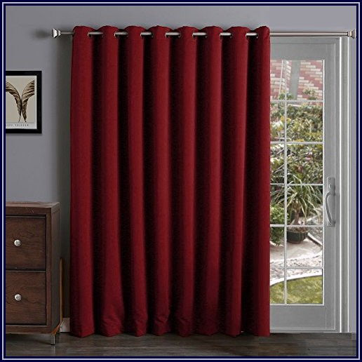 Insulated Thermal Patio Door Curtains
